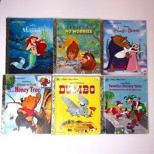 Vintage Set of Disney Storybooks